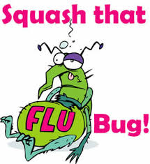 Seven Things to do when the FLU BUG Bites – The Student Body |Flu Bug Cartoons
